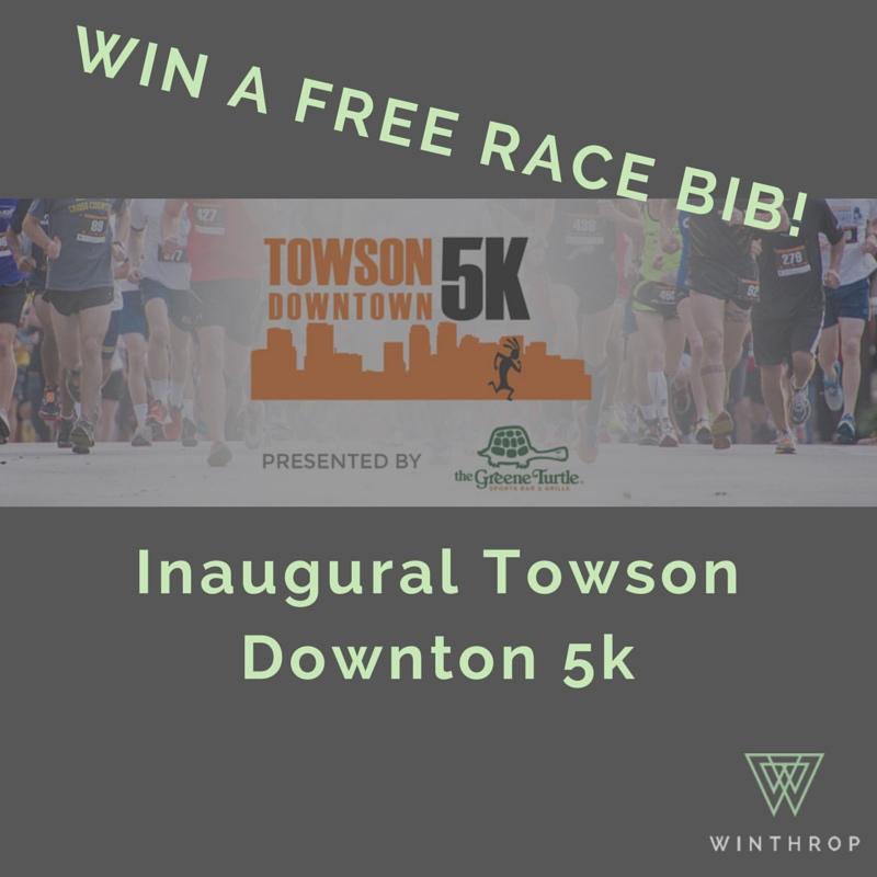 Win a Free Bib to Downtown Towson 5k