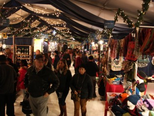 Christmas Village in Baltimore