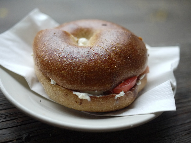 Pop In to Towson Hot Bagels for Breakfast and Lunch Sandwiches on New York-Style Bagels