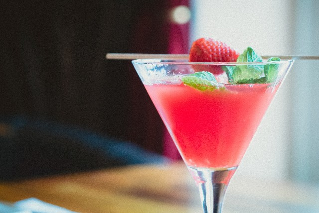 Enjoy a Specialty Martini During Happy Hour at 7 West Bistro Grille