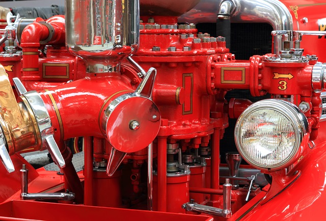 See Vintage Fire Trucks at The Fire Museum of Maryland